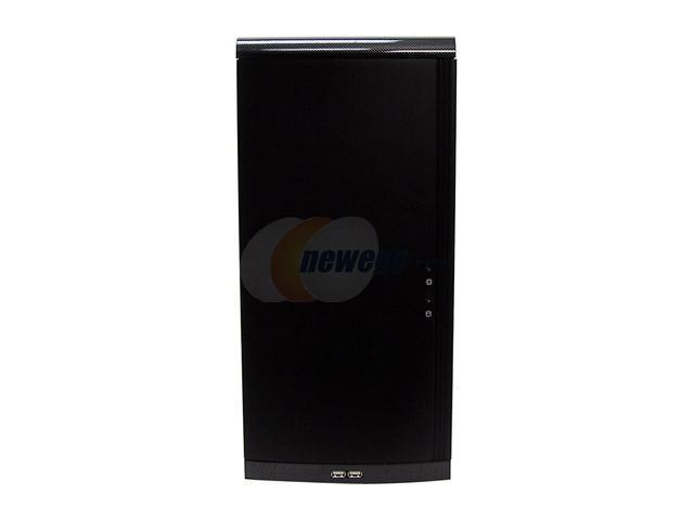 LIAN LI PC-6070Bplus II Black Aluminum ATX Mid Tower Computer Case