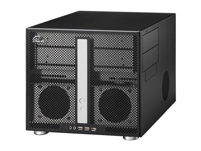 LIAN LI PC-V300B Black Aluminum MicroATX Mini Tower Computer Case