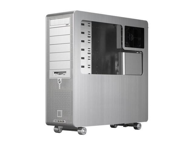 LIAN LI PC-V2000APLUSII W Silver Aluminum Server Computer Case