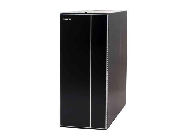 LIAN LI PC-A10B Black Aluminum ATX Mid Tower Computer Case