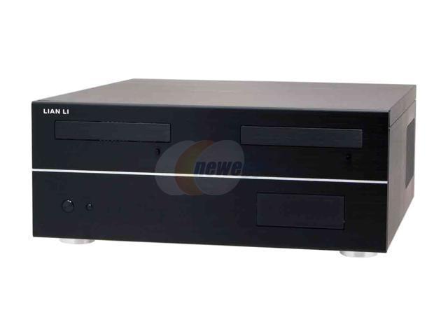 LIAN LI PC-C30B Black Aluminum ATX Desktop Computer Case