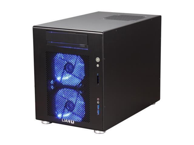 LIAN LI PC-V354B Black Aluminum MicroATX Mini Tower Computer Case