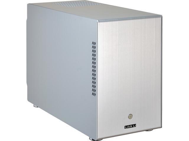 LIAN LI PC-M25A Silver Aluminum Computer Case