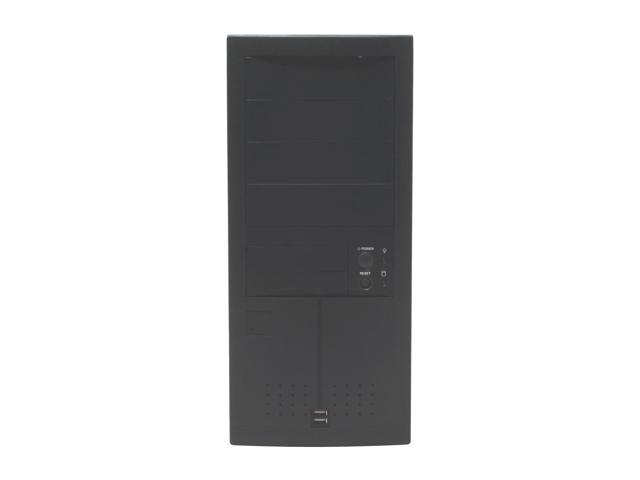 Enlight 7250AK9 Black 0.8mm Steel ATX Mid Tower Computer Case