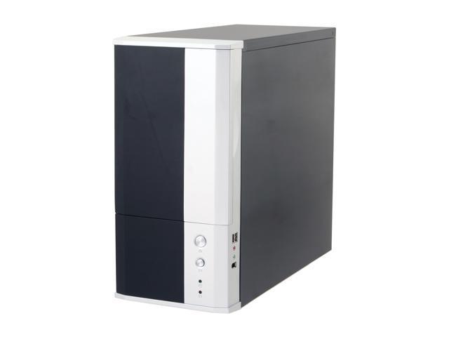 Eagle Tech ET-CASI1-BK Black Steel ATX Mid Tower Computer Case 400W Power Supply