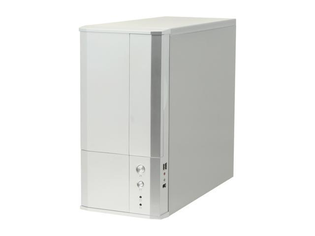 Eagle Tech ET-CASI1-SL Silver Steel ATX Mid Tower Computer Case 400W Power Supply