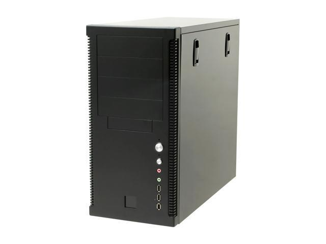 Eagle Tech ET-CAKSR4500-BK Black Steel ATX Mid Tower Computer Case 480W Power Supply