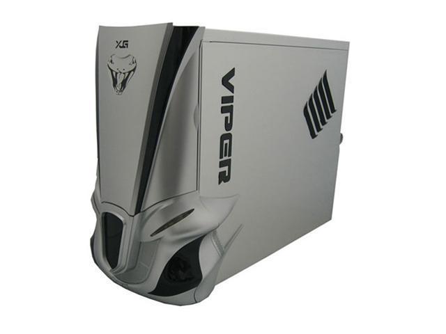 Eagle Tech ET-CAV2-WOP-SL Silver 1.0mm Aluminum ATX Mid Tower Computer Case