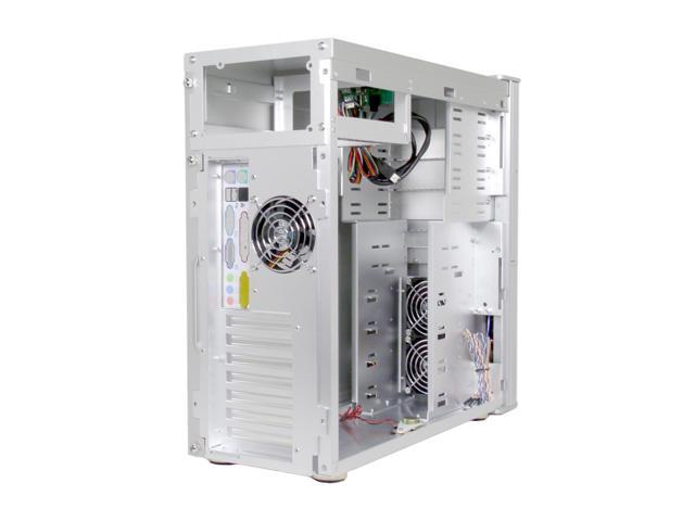 COOLER MASTER Wave Master TAC-T01-E1C Silver All Aluminum Alloy ATX Mid Tower Computer Case