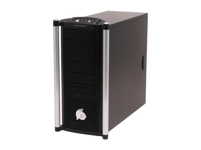 COOLER MASTER Centurion 532 RC-532-SKN1 Black Aluminum bezel, SECC chassis ATX Mid Tower Computer Case