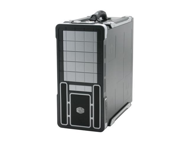 COOLER MASTER Ammo 533 RC-533-SWN1 Black/ Silver Aluminum+Plastic front bezel; SECC chassis ATX Mid Tower Computer Case