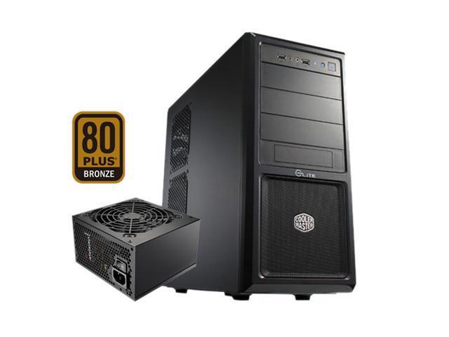 COOLER MASTER Elite 370 RC-370-KKA400 Black Computer Case