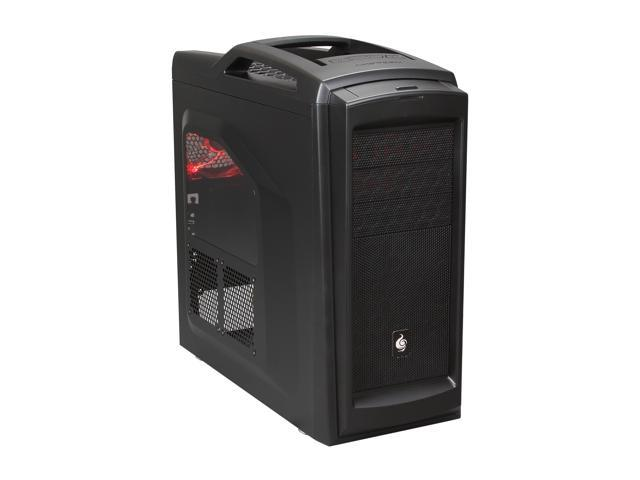 CM Storm Scout 2 Advanced - Gaming Mid Tower Computer Case with Carrying Handle and Windowed Side Panel - Black