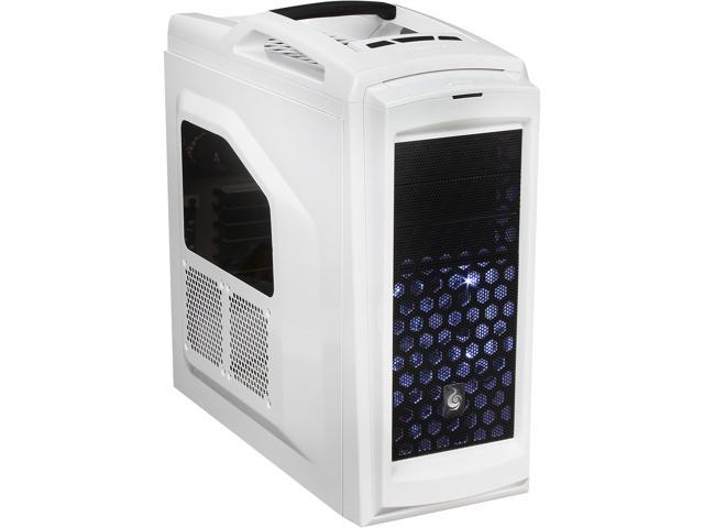 CM Storm Scout 2 Advanced - Gaming Mid Tower Computer Case with Carrying Handle and Windowed Side Panel - White