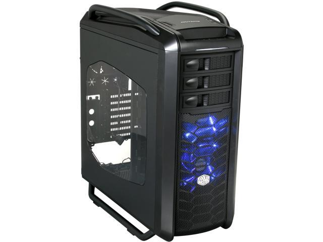 Cooler Master Cosmos SE - Mid Tower Computer Case with High-End Water Cooling Support and Carrying Handles