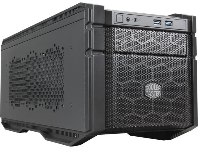 Cooler Master HAF Stacker 915R Mini-ITX Computer Case - Can Support Up To 280mm Radiators (Rear PSU Mount)