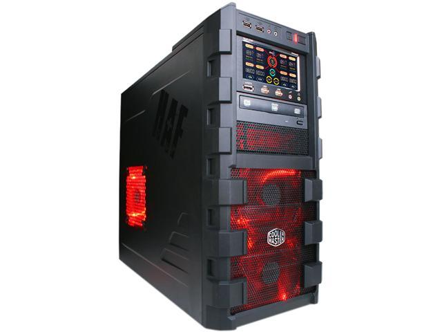 Cooler Master HAF 912 Black/Red Mid-Tower Gaming Case