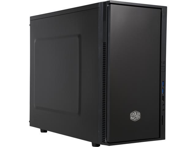 COOLER MASTER SIL-352M-KKN1 Black Steel MicroATX Mini Tower Computer Case