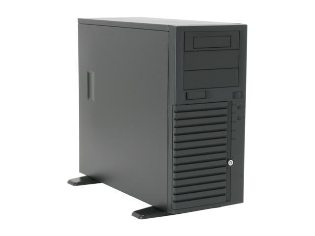 "CHENBRO SR20969-CO Black 0.8 mm SECC Pedestal Entry level ATX Server/Workstation Chassis 3 External 5.25"" Drive Bays"