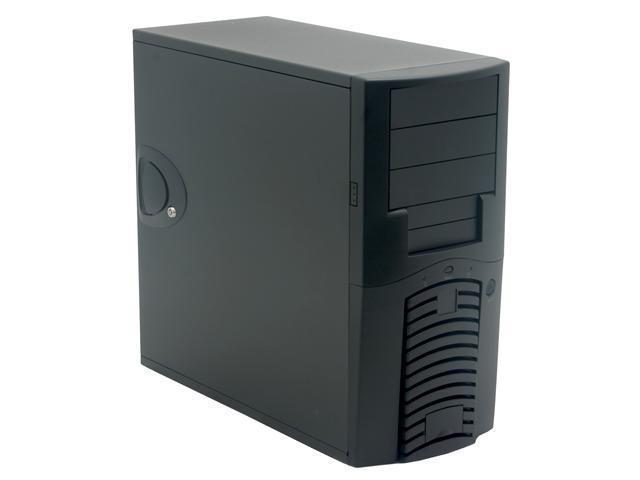 CHENMING 501AWBU-F-0 BLK Black 1.0mm SECC ATX Mid Tower Computer Case