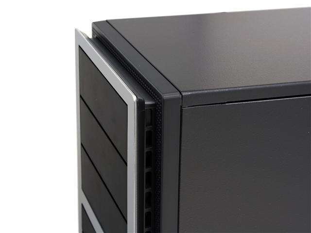 Antec NSK 4400 Black/ Silver 0.8mm cold-rolled steel ATX Mini Tower Computer Case 380W Power Supply