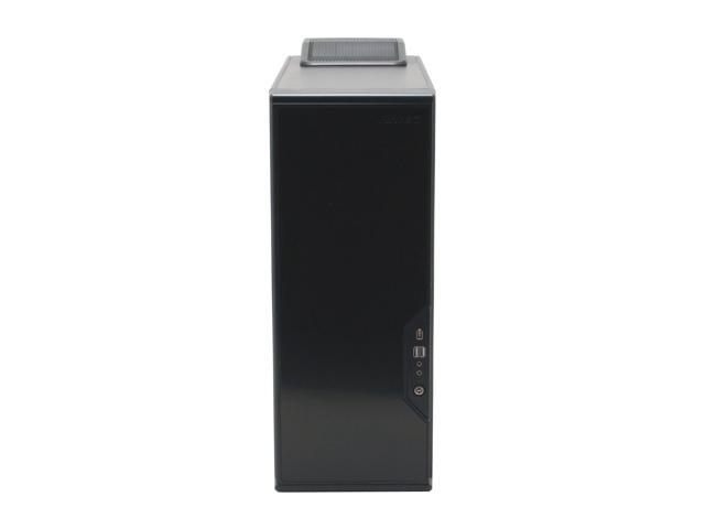 Antec Performance One P180B Black 0.8mm cold rolled steel for durability through the majority of chassis 1.0mm cold rolled steel around the 4 x HDD area ATX Mid Tower Computer Case
