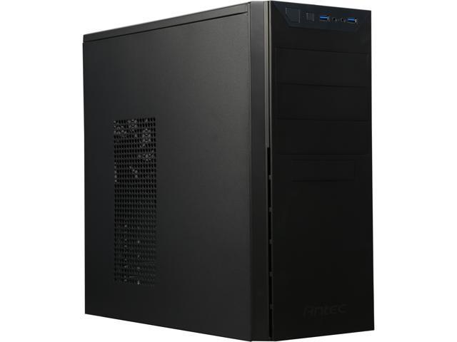 Antec VSK4000E U3 Black SGCC steel MicroATX Mid Tower Computer Case