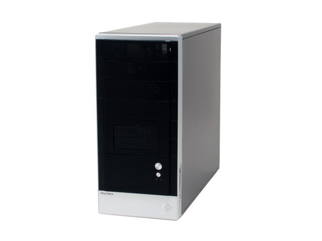 Thermaltake matrix VD2000BNS Black/ Silver SECC Japanese steel ATX Mid Tower Computer Case