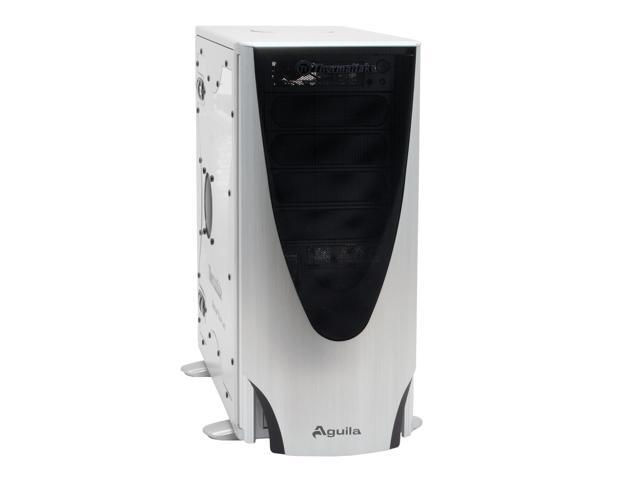 Thermaltake VD1000SWA Silver Aluminum ATX Mid Tower Computer Case