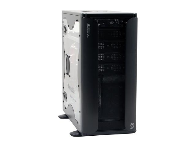 Thermaltake VC3000BWS Black Chassis : 0.8mm SECC Front bezel : Aluminum ATX Mid Tower Computer Case