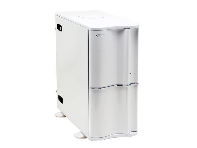 Thermaltake Soprano VB1000WNS White Steel / Plastic ATX Mid Tower Computer Case
