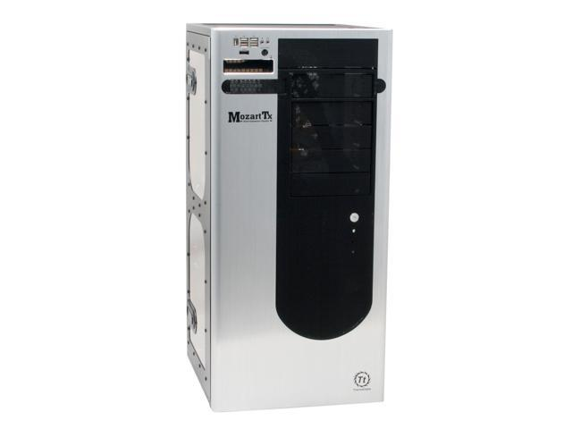 Thermaltake Black/Silver Aluminum Side Panel / SECC Body MozartTx VE1000BWS Cube Tower