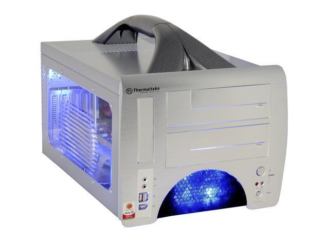 Thermaltake VF1000SWA Silver Aluminum MicroATX Desktop Computer Case