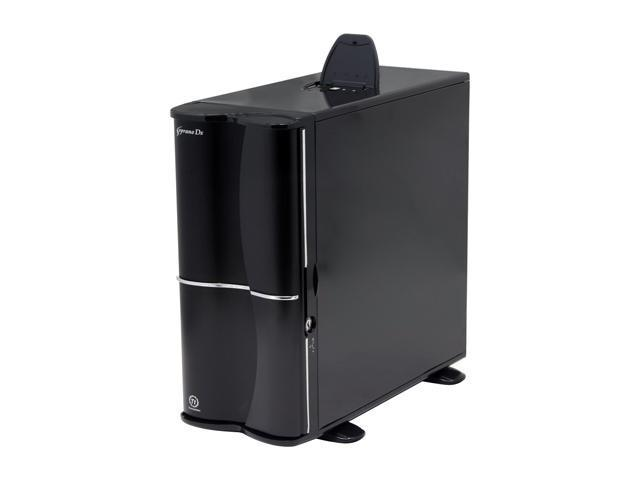 Thermaltake Soprano DX VE7000BWS Black 0.8mm SECC Chassis/ Aluminum Front Bezel ATX Mid Tower Computer Case
