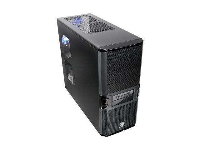 Thermaltake V3 Black Edition VL80001W2Z Black SECC / Plastic ATX Mid Tower Computer Case