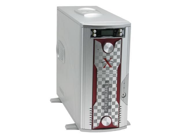 Thermaltake Xaser V Damier Silver Chassis 1.0 mm All aluminum made Front Door Aluminum made ATX Mid Tower Computer Case