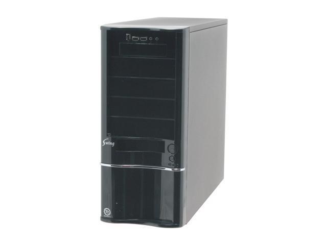 Thermaltake Swing VB6000BWS Black 0.8 mm SECC Steel ATX Mid Tower Computer Case