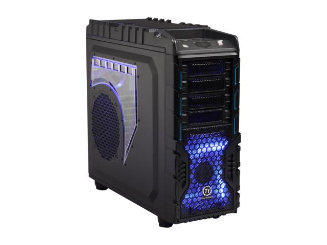 Thermaltake Overseer RX-I VN700M1W2N Black SECC ATX Full Tower Computer Case Standard PS2 PSU Power Supply