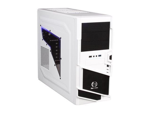Thermaltake Commander Series VN40006W2N White / Black SECC ATX Mid Tower Computer Case