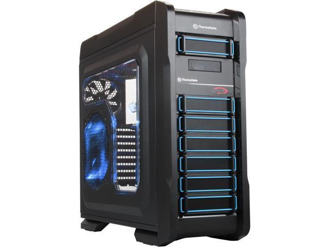 Thermaltake VP40031W2N Black Computer Case w/ Liquid Cooling System