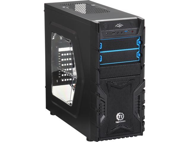 Thermaltake Versa H23 Mid-Tower Case Mid Tower Computer Case with Windowed Side Panel and USB 3.0(CA-1B1-00M1WN-01) (Mail In Rebate $10.0 Expires ...
