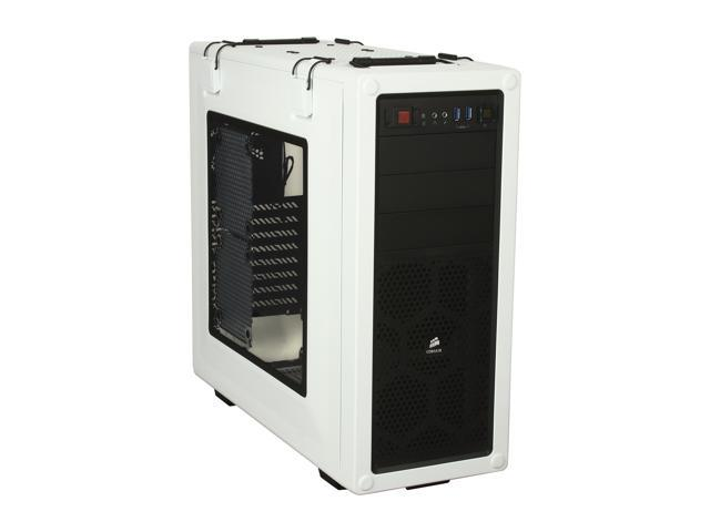 Corsair Vengeance Series C70 Arctic White Steel ATX Mid Tower Computer Case