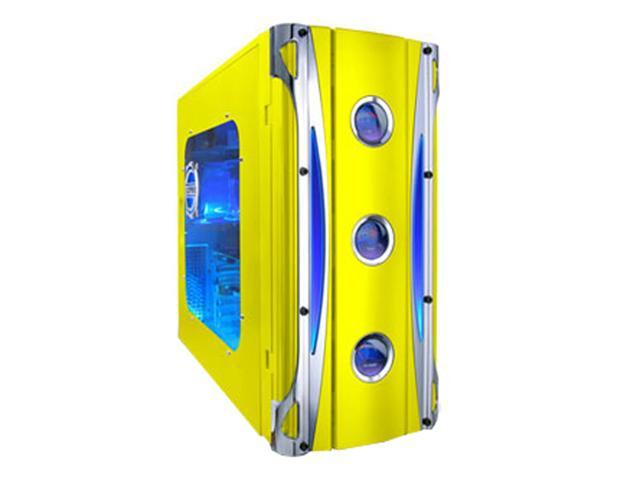 APEVIA X-CRUISER-YL Yellow Steel ATX Mid Tower Computer Case
