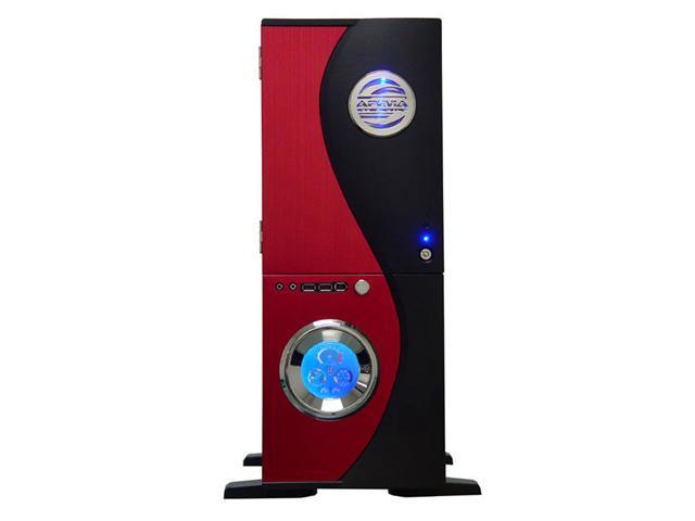 APEVIA X-TELSTAR-RD Red/ Black Aluminum ATX Full Tower Computer CaseNo Power Supply