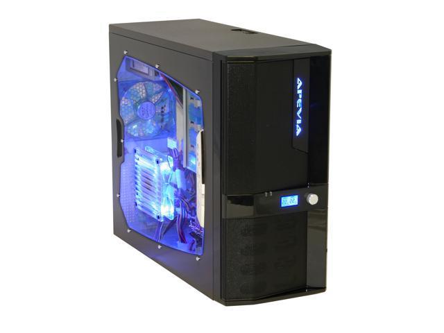 APEVIA X-JUPITER-JR G-Type X-JPJGT-BK Black SECC Steel ATX Mid Tower Computer Case