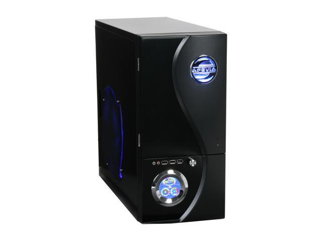 APEVIA X-TELSTAR-JR S-Type X-TSJST-BK Black Steel ATX Mid Tower Computer Case