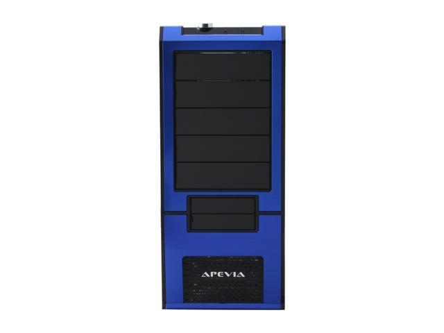 APEVIA X-SUPRA G-Type X-SUPRAG-BL Black / Blue SECC Steel ATX Mid Tower Computer Case