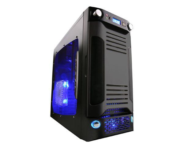 APEVIA X-SNIPER G-Type X-SNIPERG-BK Black SECC Steel ATX Mid Tower Computer Case
