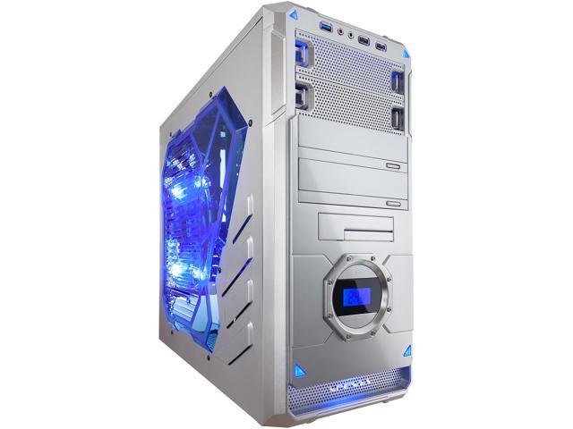 APEVIA X-DREAMER4 Series X-DREAMER4-AL Silver Computer Case