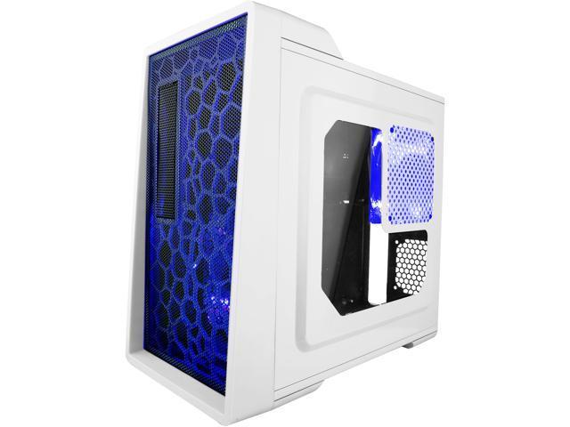 APEVIA X-EnerQ-WHT Black/White SECC Computer Case